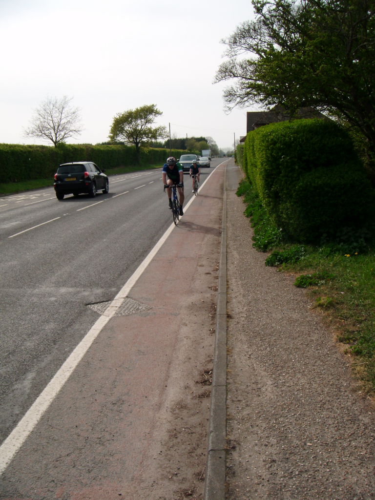 Cyclists using the Southern Coastal National Cycle Network Route No2