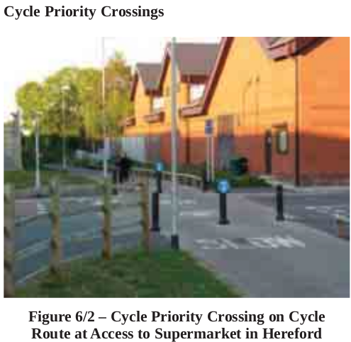 Cycle Way with Priority