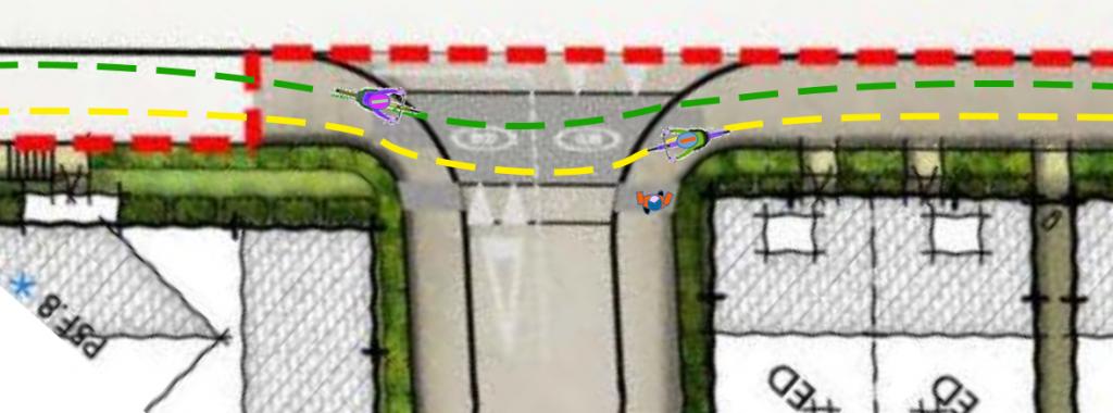 pedestrian-conflict