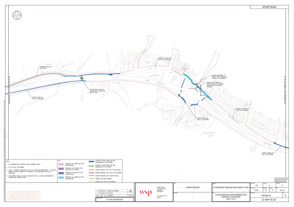 Bosham roundabout plans