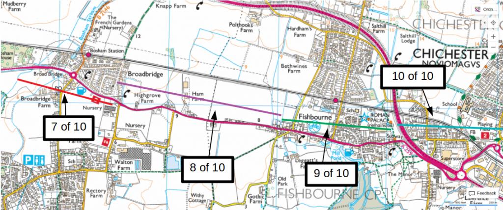 Bosham to Chichester