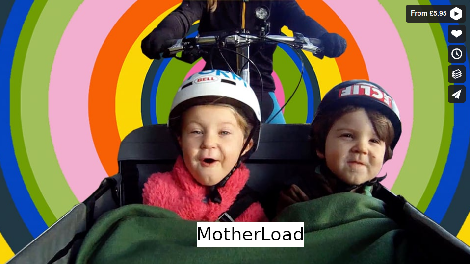 MOTHERLOAD is a crowdsourced documentary about Cargobikes